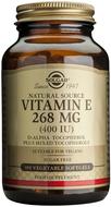 Kuva tuotteesta Solgar E-vitamiini 268 mg vegaaninen, 100 kaps