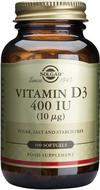 Kuva tuotteesta Solgar D3-vitamiini 10 mikrog