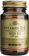 Kuva tuotteesta Solgar D3-vitamiini 25 mikrog kasvissyöjille, 90 tabl