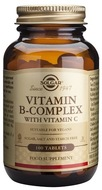 Kuva tuotteesta Solgar B-Complex + C-vitamiini, 100 tabl