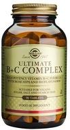 Kuva tuotteesta Solgar Ultimate B+C Complex, 90 tabl
