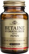 Kuva tuotteesta Solgar Betaiinihydrokloridi + pepsiini