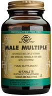 Kuva tuotteesta Solgar Male Multiple miesten monivitamiini, 60 tabl