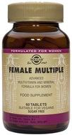 Kuva tuotteesta Solgar Female Multiple naisten monivitamiini, 60 tabl