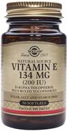 Kuva tuotteesta Solgar E-vitamiini 134 mg