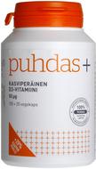 Kuva tuotteesta Puhdas+ Kasviperäinen D3-vitamiini, 50 mikrog, 100+20 kaps