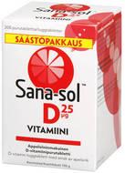 Kuva tuotteesta Sana-sol D-vitamiini 25 mikrog kampanjapakkaus