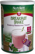 Kuva tuotteesta Nutrilett Breakfast Shake Blueberry & Blackcurrant