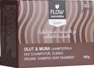 Kuva tuotteesta FLOW Kosmetiikka Shampoopala Olut ja Muna