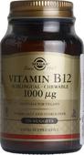 Kuva tuotteesta Solgar B12-vitamiini 1000 mikrog, 250 tabl