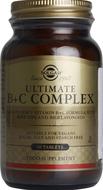 Kuva tuotteesta Solgar Ultimate B+C Complex, 60 tabl