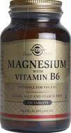 Kuva tuotteesta Solgar Magnesium + B6-vitamiini, 250 tabl