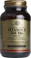 Kuva tuotteesta Solgar E-vitamiini 268 mg vegaaninen, 50 kaps