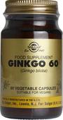 Kuva tuotteesta Solgar Ginkgo 60