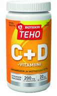 Kuva tuotteesta Bioteekin Teho C+D -vitamiini