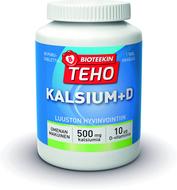 Kuva tuotteesta Bioteekin Teho Kalsium+D