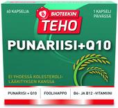 Kuva tuotteesta Bioteekin Teho Punariisi+Q10