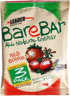 Kuva tuotteesta Leader BareBar Raakapatukka Punaiset marjat 3-pack