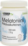 Kuva tuotteesta Leader Pitkävaikutteinen Melatoniini, 100 tabl