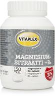 Kuva tuotteesta Vitaplex Magnesiumsitraatti + B6-vitamiini
