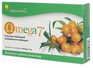 Kuva tuotteesta Valioravinto Omega7 Tyrniöljykapselit, 60 kaps