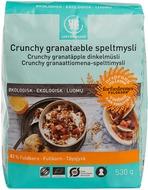 Kuva tuotteesta Urtekram Luomu Crunchy Granaattiomena-spelttimysli