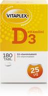 Kuva tuotteesta Vitaplex Vahva D-vitamini 25 mikrog