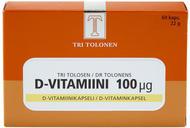 Kuva tuotteesta Tri Tolosen D-vitamiini 100 mikrog