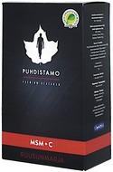 Kuva tuotteesta Puhdistamo Premium MSM + C Ruusunmarja