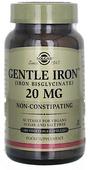 Kuva tuotteesta Solgar Gentle Iron, 180 kaps