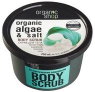 Kuva tuotteesta Organic Shop vartalonkuorinta Merilevä & Suola