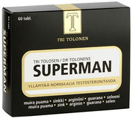 Kuva tuotteesta Tri Tolosen Superman, 60 tabl