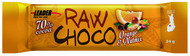 Kuva tuotteesta Leader Raw Choco Orange & Nutmix