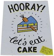 Kuva tuotteesta Niko Niko Istutettava Siemenkortti Hooray! Let's Eat Cake
