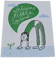 Kuva tuotteesta Niko Niko Istutettava Siemenkortti Welcome Little Sprout