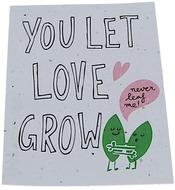 Kuva tuotteesta Niko Niko Istutettava Siemenkortti You Let Love Grow