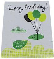 Kuva tuotteesta Niko Niko Istutettava Siemenkortti Happy Birthday