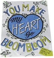 Kuva tuotteesta Niko Niko Istutettava Siemenkortti You Make My Heart Go Bloom Bloom