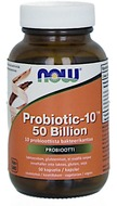 Kuva tuotteesta Now Foods Probiotic-10, 50 Billion