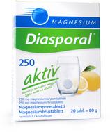 Kuva tuotteesta Magnesium Diasporal Aktiv-poretabletit 250 mg