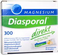 Kuva tuotteesta Magnesium Diasporal Direkt-rakeet 300 mg