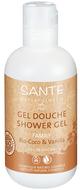 Kuva tuotteesta Sante Organic Kookos & Vanilja suihkugeeli, 200 ml