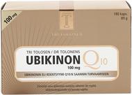 Kuva tuotteesta Tri Tolosen Ubikinon 100 mg, 180 kaps
