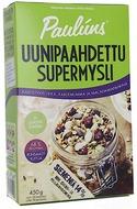 Kuva tuotteesta Pauluns Uunipaahdettu Mysli Karhunvatukka-Kardemumma-Macadamiapähkinä
