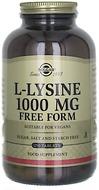 Kuva tuotteesta Solgar L-Lysiini 1000 mg, 250 tabl