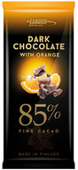 Kuva tuotteesta Leader Dark Chocolate 85 % Orange