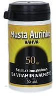 Kuva tuotteesta Musta Aurinko D3-vitamiini 50 mikrog