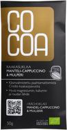 Kuva tuotteesta Cocoa Luomu Raakasuklaa Manteli-cappuccino & mulperi