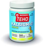 Kuva tuotteesta Bioteekin Teho Kalsium+D Junior