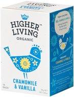 Kuva tuotteesta Higher Living Luomu Kamomilla-vaniljatee